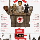 Isle of Dogs Version A Original Double Sided Movie Poster 27x40 inches