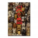 Isle of Dogs Version B Original Double Sided Movie Poster 27x40 inches