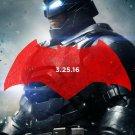 Batman V Superman Advance Batman Double Sided Original Movie Poster 27×40 inches