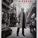 """Birdman C White Double Sided 27""""x40' inches Original Movie Poster W. Anderson"""