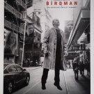 "Birdman C White Single Sided 27""x40' inches Original Movie Poster W. Anderson"