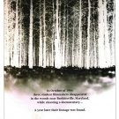 Blair Witch Project Advance Double Sided Original Movie Poster 27×40