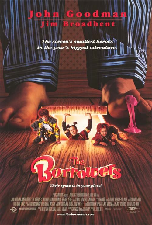 Borrowers Single Sided Original Movie Poster 27�40 inches