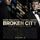 Broken City Double Sided Original Movie Poster 27×40