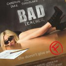Bad Teacher Double Sided Original Movie Poster 27×40 inches