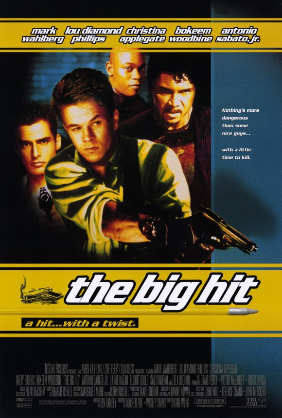 Big Hit 1998 Double Sided Original Movie Poster 27�40