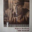 Brubaker Single Sided Original Movie Poster 27×41 Folded
