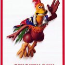 Chicken Run (Lone Free Ranger) Do uble Sided Orig Movie Poster 27x40 inches