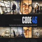 Code 46 Double Sided Original Movie Poster 27x40 inches
