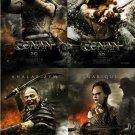 Conan 4 pcs/set Single Sided Original Movie Poster 27x40 inches