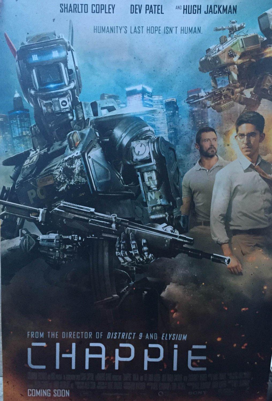 Chappie International Version B Double Sided Original Movie Poster 27�40