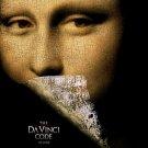 Da Vinci Code Advance Double Sided Original Movie Poster 27×40