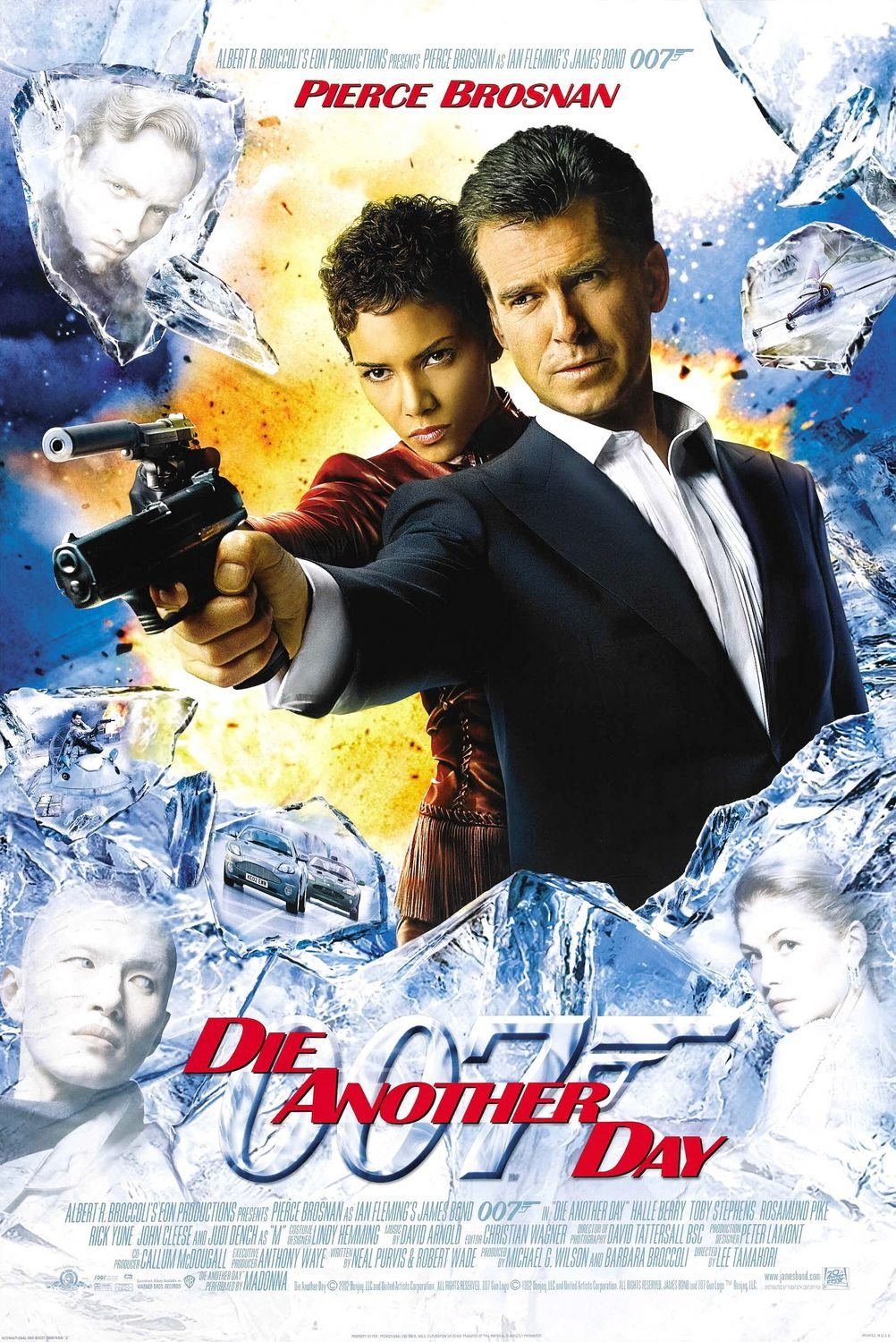 Die Another Day International Double Sided Original Movie Poster 27�40