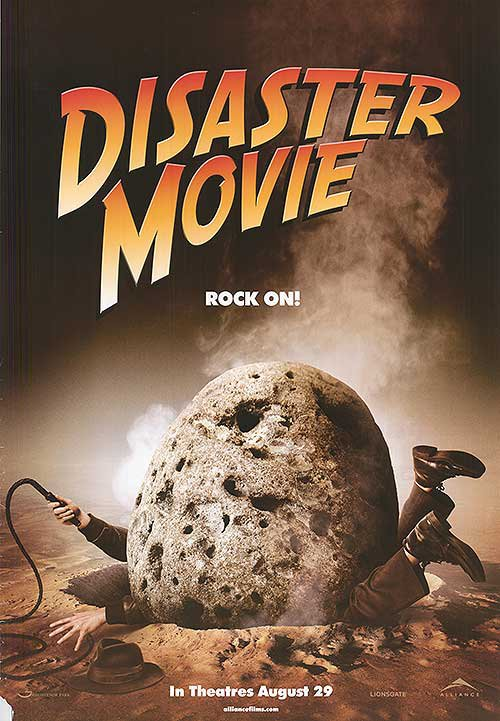 Disaster Movie Advance Double Sided Original Movie Poster 27�40