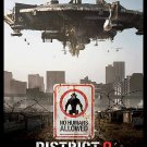 District 9 Regular Double Sided Original Movie Poster 27×40