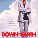 Down To Earth Double Sided Original Movie Poster 27×40
