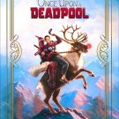 Deadpool 2 Blue Original Movie Poster Double Sided 27×40 inches