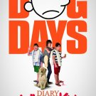 Diary of Wimpy Kid Dog Days Advance Double Sided Original Movie Poster 27×40
