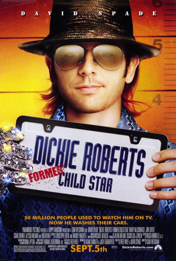 Dickie Roberts Former Child Star Double Sided Original Movie Poster 27�40