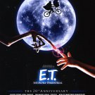 E.T Extra Terrestrial 20th Anniversary Double Sided Original Movie Poster 27×40