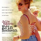 Erin Brockovich Double Sided original Movie Poster 27×40