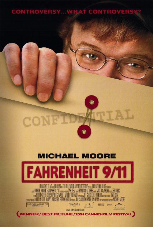 Fahrenheit 9/11 Single Sided Original Movie Poster 27�40