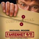 Fahrenheit 9/11 Single Sided Original Movie Poster 27×40