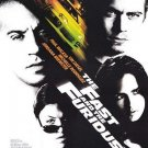 Fast and Furious Double Sided Original Movie Poster 27×40