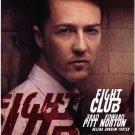 Fight Club E. Norton Single Sided Original Movie Poster 27×40