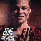 Fight Club Brad Pitt (Advance) Double Sided Original Movie Poster 27×40