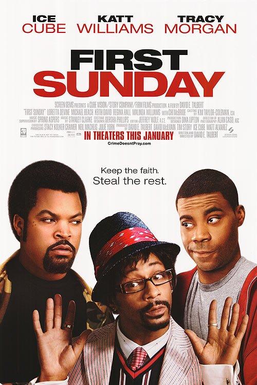 First Sunday Single Sided Original Movie Poster 27�40