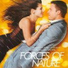 Forces of Nature (Yellow) Double Sided Original Movie Poster 27×40