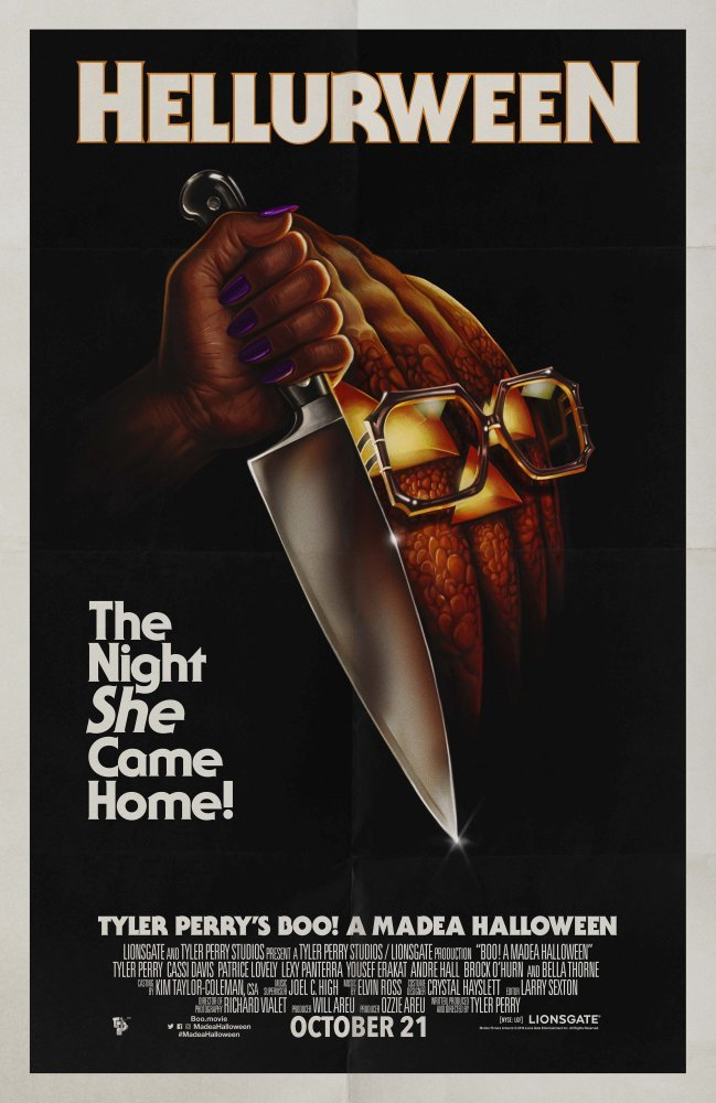 Boo! A Madea Halloween Double Sided Original Movie Poster 27�40