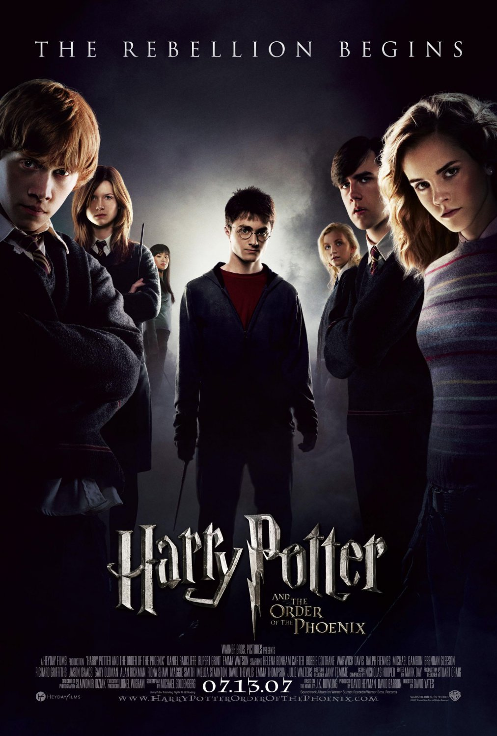 Harry Potter and the Order of the Phoenix Double Sided Original Movie Poster 27�40