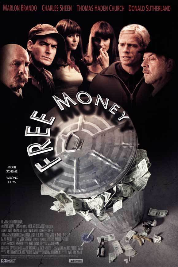 Free Money Double Sided Original Movie Poster 27�40