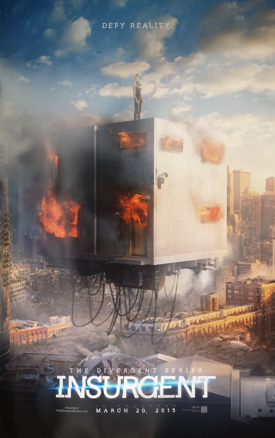 Insurgent B Double Sided Original Movie Poster 27�40