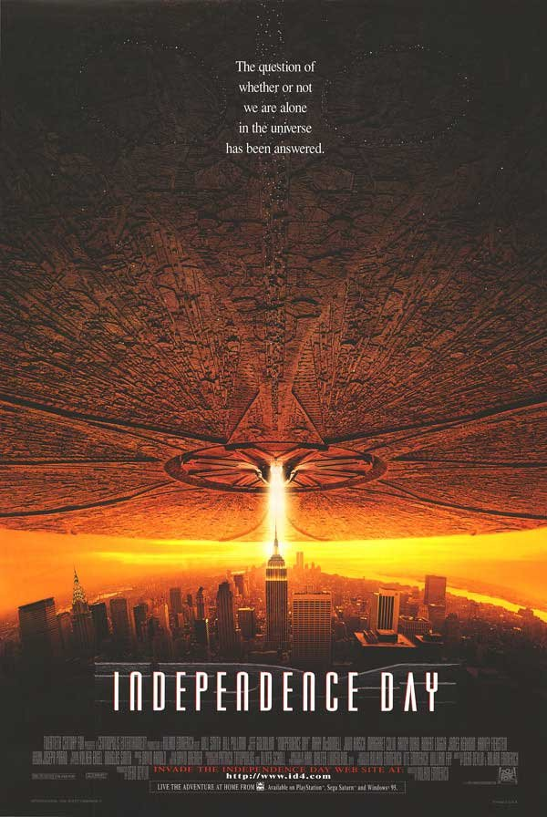 Independence Day Double Sided Original Movie Poster 27�40