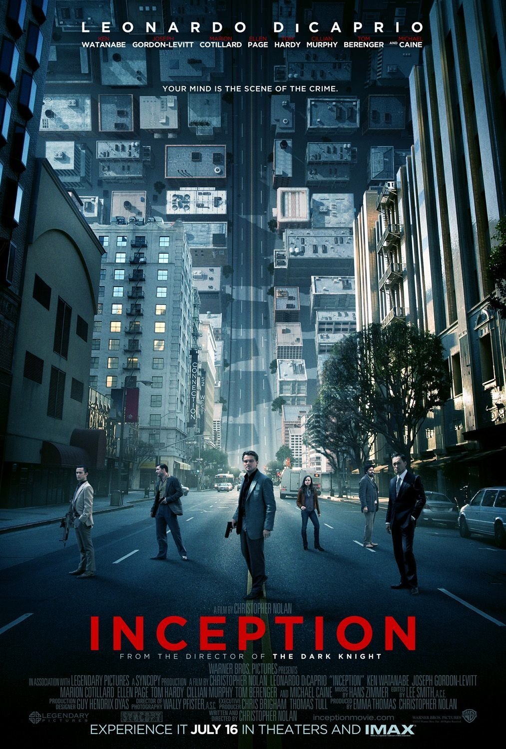Inception Regular Double Sided Original Movie Poster 27�40