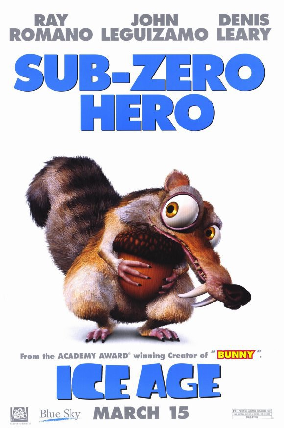 Ice Age Single Sided Original Movie Poster 27�40