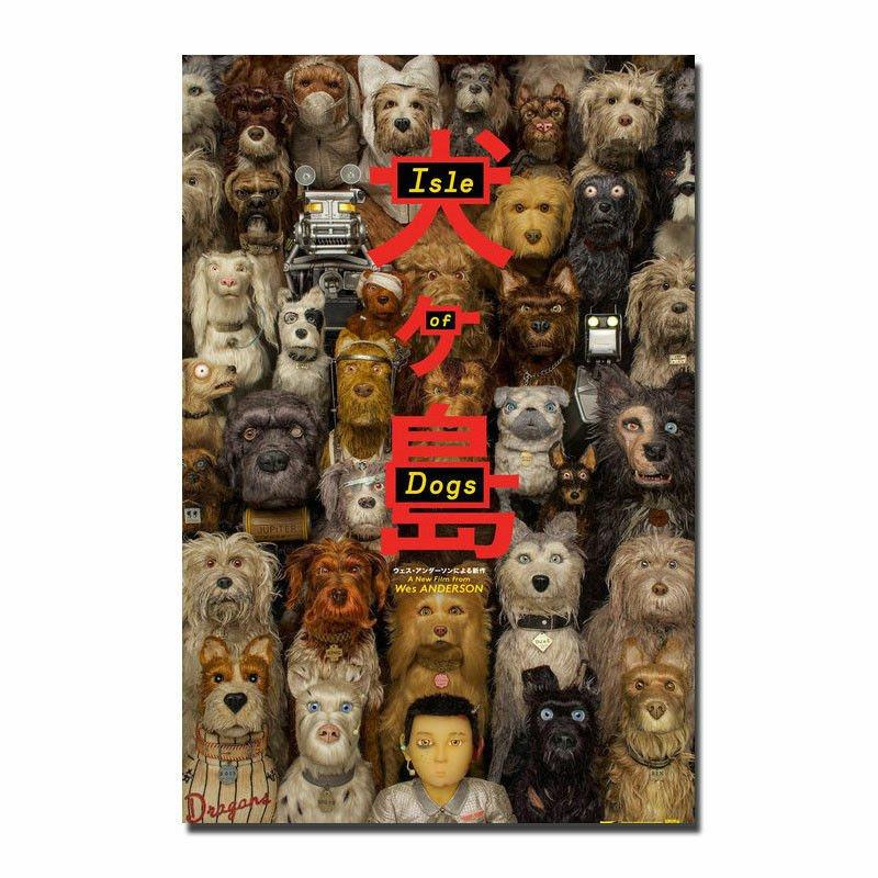 Isle of Dog Adv B Double Sided Original Movie Poster 27�40