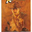 Indiana Jones Raiders of the Lost Ark Movie Poster Re-Release Single Sided 27×40
