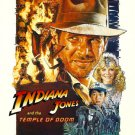 Indiana Jones and the temple of doom Single Sided Original Movie Poster 27×40