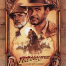 Indiana Jones and the Last Crusade Re-Release Original Movie Poster 27×40