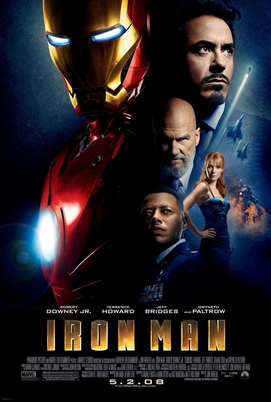 Iron Man Regular Single Sided Original Movie Poster 27�40