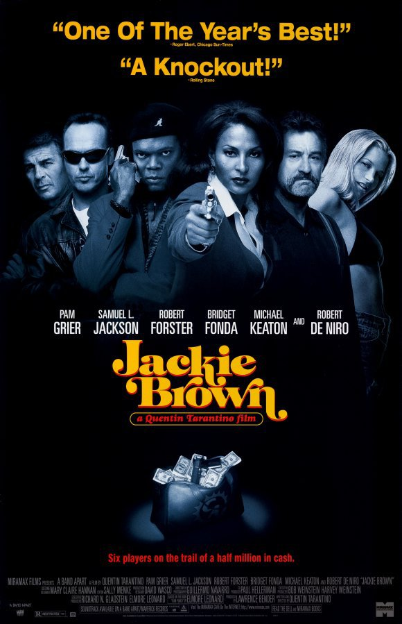 Jackie Brown Regular Movie Poster Original Single Sided 27�40 inches