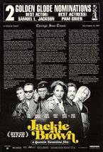 Jackie Brown Golden Globe Double Sided Original Movie Poster 27�40