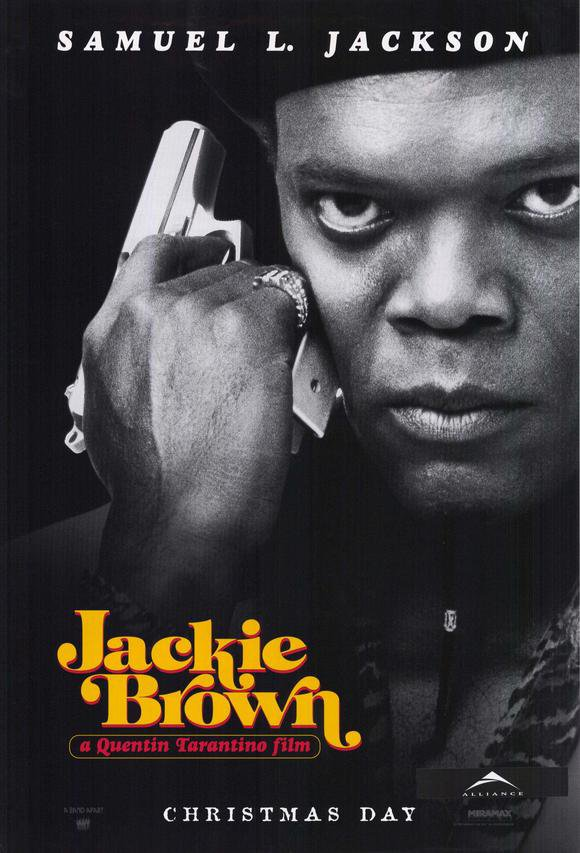 Jackie Brown Advance (Jackson) Double Sided Original Movie Poster 27�40