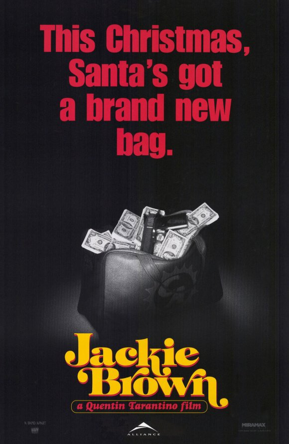 Jackie Brown Advance (Bag Money)Double Sided Original Movie Poster 27�40