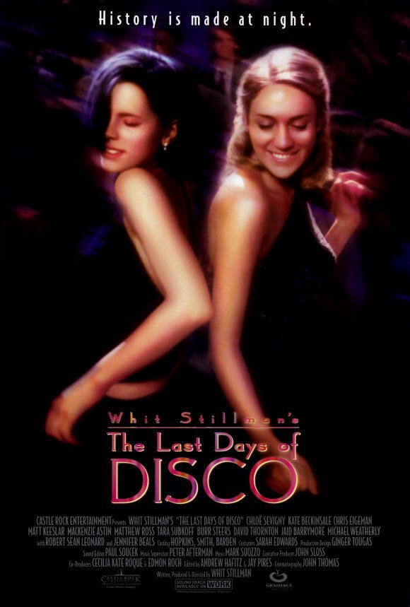 Last Days of Disco Double Sided Original Movie Poster 27�40