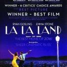 La La Land Golden Golden Double Sided Original Movie Poster 27×40